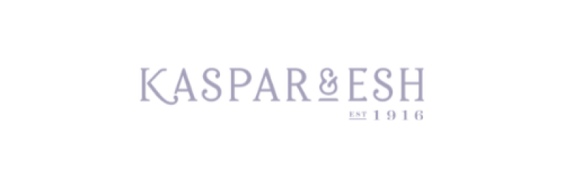 Kaspar & Esh is a featured company sold at William's Jewelers Inc.