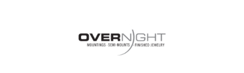Overnight Mountings is a featured company sold at William's Jewelers Inc.